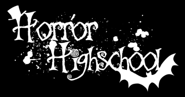 Horror Highschool Banner Logo